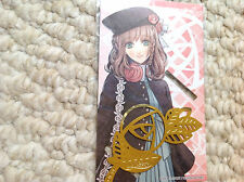 Otomate AMNESIA Heroine Japan Anime GOLD bookmark