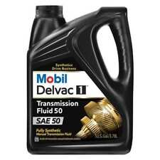 MOBIL 112812 Synthetic Transmission Fluid, 50W
