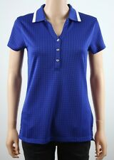 Tommy Hilfiger Golf Womens Blue Polo Shirt TW395SAM - M