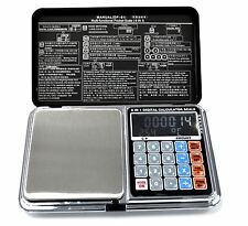 MULTI FUNCTIONAL DIGITAL SCALE 100G/0.01G  TARE CALCULATOR LCD PORTABLE 6 IN 1