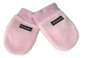 Baby Columbia Gloves Pink Fleece Infant Mittens