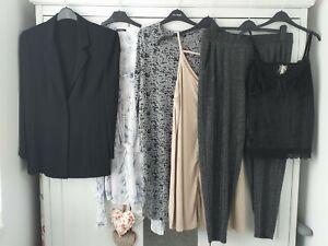 Womens Ladies Clothes Bundle Size 16 Dress Jacket Blouse Dress Jumper Tops