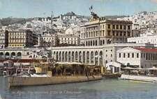 Algiers Algeria General View Prise De L Amiraute Antique Postcard K10080