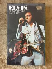 ELVIS PRESLEY JIGSAW PUZZLE CASSE-TETE SEALED 70'S OUT OF PRINT MAKES GREAT GIFT