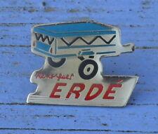 Pin's remorques Erde, fin des années 1980-début des années 1990