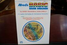 Alfred's Basic Band Method E Flat Alto Saxophone (Baritone) Bk 1