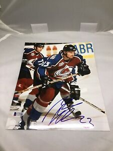 Milan Hejduk Signed Colorado Avalanche 8x10 Photo Autographed Beckett BAS COA 1A