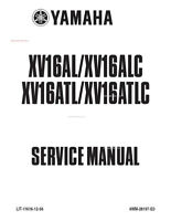 Yamaha Roadstar XV16AL Service Manual 1999 2000 2001 2002 2003 LIT-11616-12-56