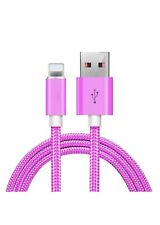 iPhone charger  Cable 4Pack 6ft Color: Hot Pink
