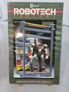 Vintage ROBOTECH FACTORY Armored BATTLOID Module 01 REVELL 1/170 Model Kit 1411