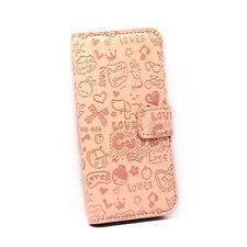 iPhone 4 Lovely Magic Girl Flip Case - Tan