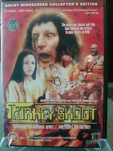 Turkey Shoot DVD Ozploitation Classics Umbrella Entertainment Original 1980 Reg4