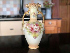 Antique S F & Co Royal Crown Devon Vase