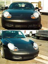 Colgan Front End Mask Bra 2pc. Fits Porsche Boxster S 2000-2002 W/O Lic.Plate