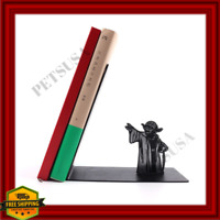 Star Wars Metal Yoda Figure Prop Statue Book Holder Furniture Figurine Fan Gift