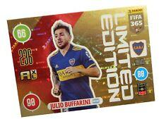 PANINI FIFA 365 2021 LIMITED JULIO BUFFARINI - BOCA JUNIORS