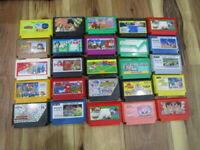 Nintendo Famicom Lot of 20 piece Hoshi no Kirby NES T421
