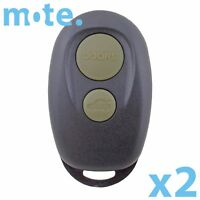 2 x Compatible With Toyota Camry/Avalon/Conquest 2 Button Remote Key Shell/Case