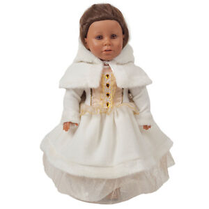 "WINTER WONDERLAND Dolls Dress for 16-20"" dolls"