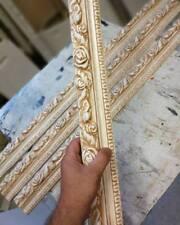 1x Stück Streifen stieg Dekorative Kunst Stuck gips Relief Griechische Skulptur
