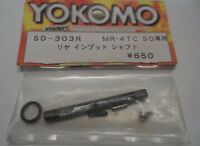 New Yokomo SD-303R MR-4 TC SD Rear Input Shaft Spare Part New Old Stock