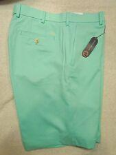 Peter Millar Element 4 Micro Houndstooth Check Golf Short NWT 36 waist $95 Green