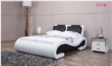 ITALIAN DESIGN KING SIZE 2017 model Y17-K PU LEATHER BED FRAME