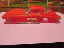 motorific slot car body IDEAL CHEVY CORVETTE  red  Toy body only
