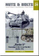"""Nuts & Bolts 31: """"Marder II"""" Panzerjager II fur 7.5 cm Pak 40/2 (Sd.Kfz. 131)"""