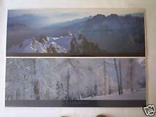 Affiches images photos posters de montagne neige hiver