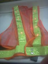 LIGHTED SAFETY VEST STROBING MUST FOR NIGHT SURVEY 23-600 CST BERGER