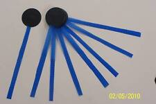 8 Silicone coated rip-stop nylon Tell Tales for Sailing