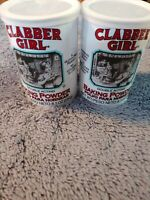 CLABBER GIRL Double acting BAKING POWDER gluten free 8.1 oz  lot 2