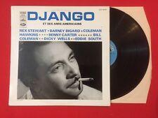 DJANGO ET SES AMIS AMÉRICANS STEWART BIGARD HAWKING CARTER VINYLE 33T LP