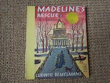 Madeline's Rescue, Ludwig Bemelmans, 1973, Viking Seafarer Books