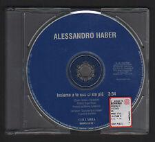 CD SINGOLO PROMOZIONALE ALESSANDRO HABER INSIEME A TE NON CI STO PIU' 1999