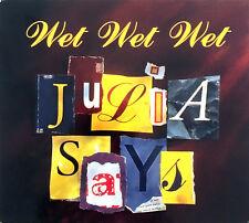 Wet Wet Wet CD Single Julia Says - Promo - Digipak - France (VG+/EX+)