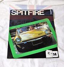 TRIUMPH SPITFIRE 1975  SALES BROCHURE