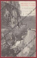 VARESE VALGANNA 30 GROTTE Cartolina viaggiata primi '900