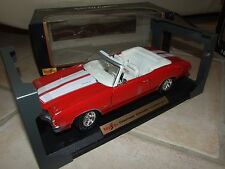 CHEVROLET CHELLE SS454 1972 Rouge Bande Blanche MAISTO 1:18