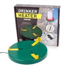 Tränkenwärmer D: 25cm  + 6 Liter Geflügeltränke Hühnertränke Heizplatte Tränke