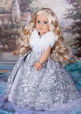 Custom American Girl Doll McKenna Caroline blond wig OOAK doll