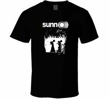 SUNN O))) DOOM BLACK METAL BAND Short Sleeve Round Neck Birthday T-Shirt Design