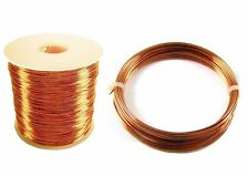 Copper Wire Dead Soft & Half Hard 12 TO 30 Ga ( 1/2 Lb. Spool Or Coil )