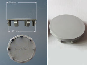 Borchia coprimozzo Ø 50mm #gr innesto 47 non originale adattabile a cerchi lega