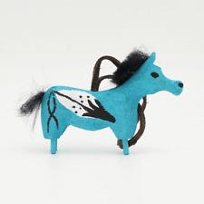 NATIVE AMERICAN NAVAJO HORSE ORNAMENT BY CHANDLER BEGAYE NAVAJO FOLK ART