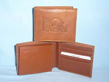 New York NY GIANTS    Leather BiFold Wallet    NEW   brown 4