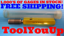 M18 X 1.5 6g METRIC SET THREAD PLUG GAGE 18.0 1.50 GO ONLY P.D. = 17.024 TOOLING