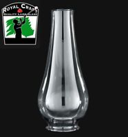 """2 3/8"""" X 8 1/4"""" ~ Clear Glass Oil Lamp Lamp CHIMNEY ~ Lip Fitter Style ~ #G7801"""
