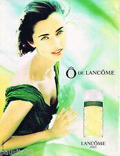 PUBLICITE ADVERTISING 065  1994  LANCOME parfum O pour femme